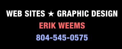Erik Weems Web Site Design
