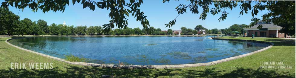 Fountain Lake - Richmond Virginia