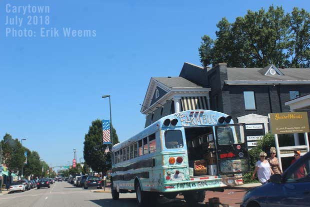 Farm Bus Carytown Richmond Virginia