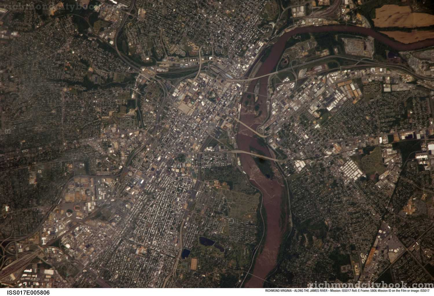 Richmond Virginia Aerial