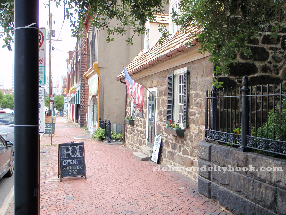 Edgar Allan Poe Museum RIchmond Virginia