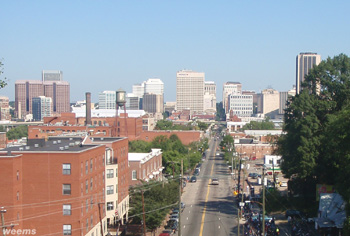 Richmond Virginia on Main Street